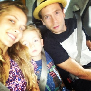 Mark Webber and Teresa Palmer selfie
