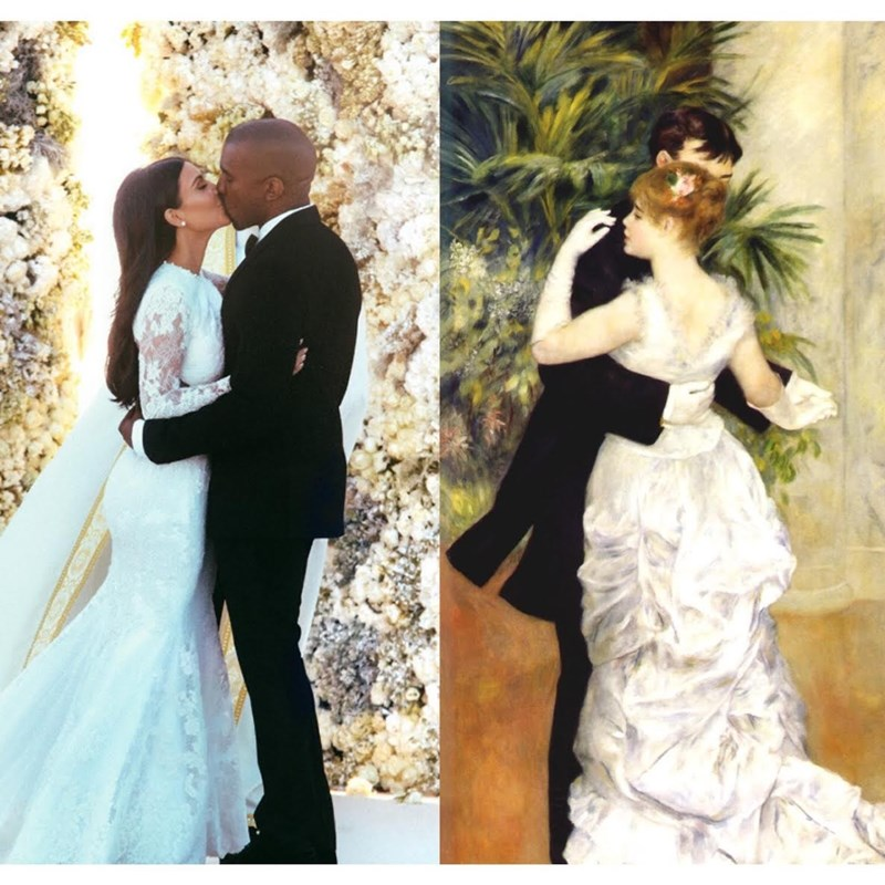 Kim Kardashian selfie marriage vs the classics