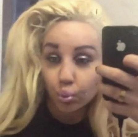 drunken selfie
