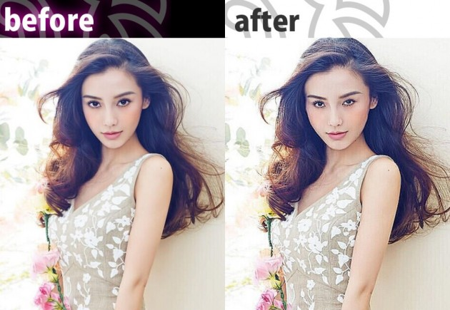 primo app before et after retouche