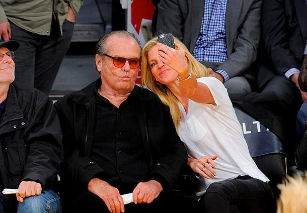 Jack Nicholson selfie