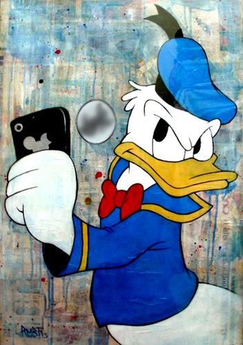 donald-duck selfie