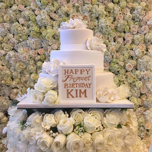 Kim's b-day cake