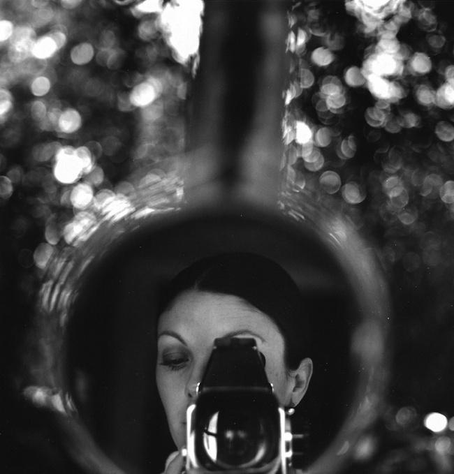 Graciela Iturbide selfie