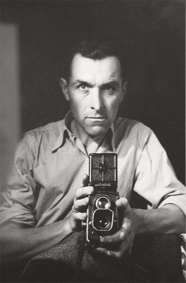 Robert Doisneau selfie