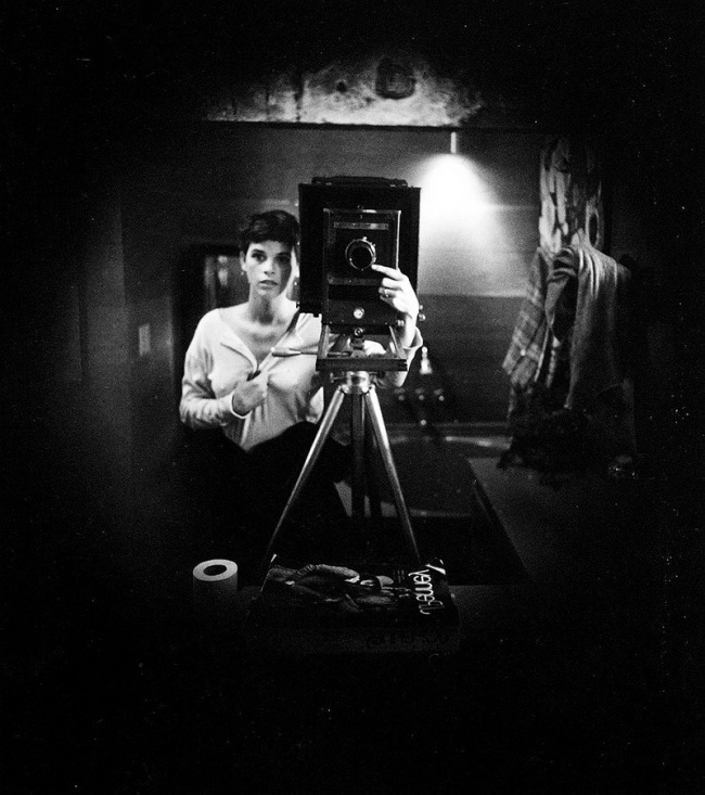 Sally Mann selfie