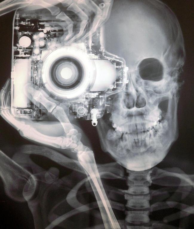 Nick Veasey selfie