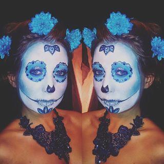 halloween selflie