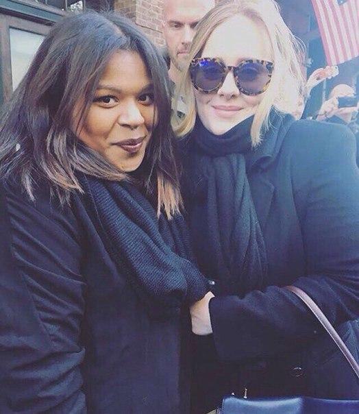 Adele fans selfie