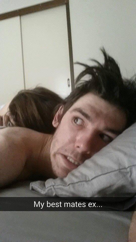 mate's ex selfie