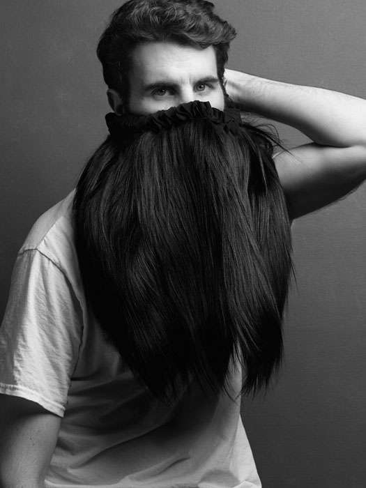 beard selfie