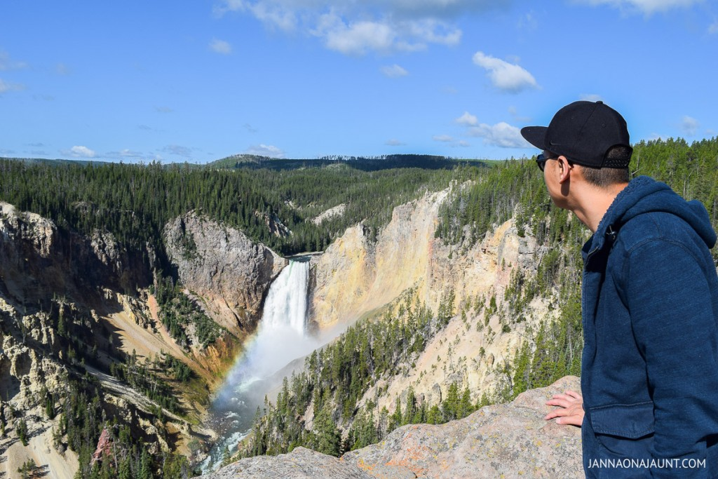 Yellowstone National Park selfie