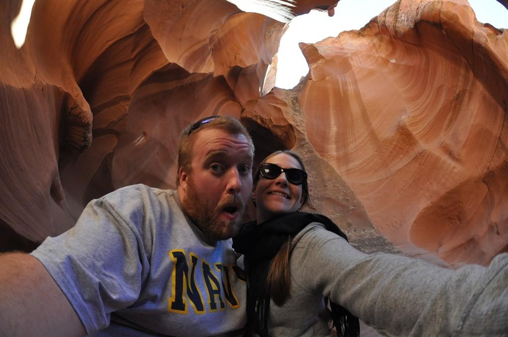 Antelope Canyon selfie
