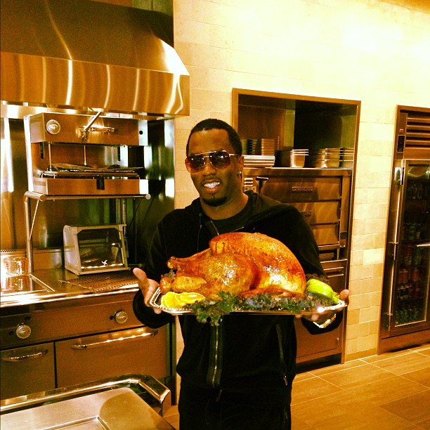 Celebrity Selfie Thanksgiving Dinner