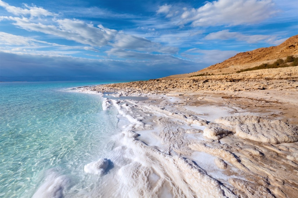 Mineral Beach, the Dead Sea
