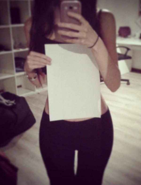 A4 paper waist challenge