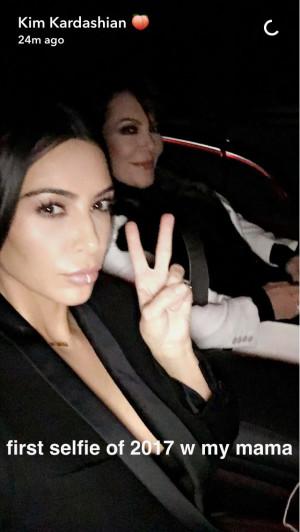 Kim Kardashian selfie 2017