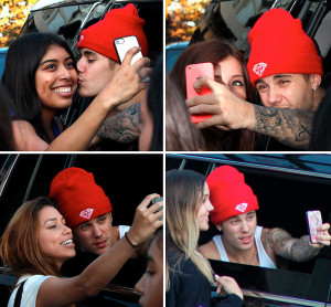 Justin Bieber will no longer take selfies with fans