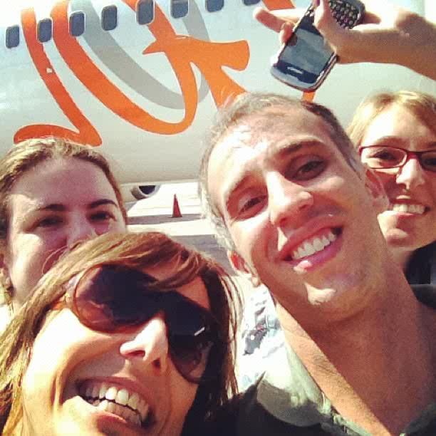 Gol Selfie Check-In service
