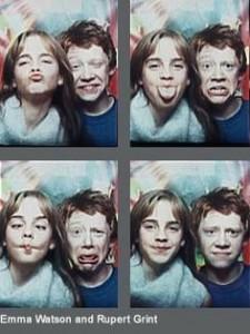 Harry Potter selfie