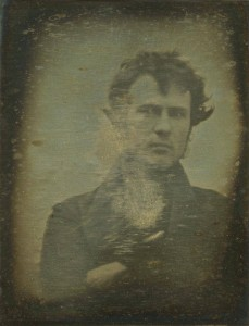 The earliest known photographic self-portrait was taken by Robert Cornelius in 1839