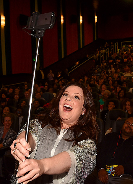 Melissa McCarthy selfie