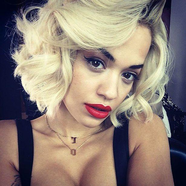 Rita Ora sexy selfie