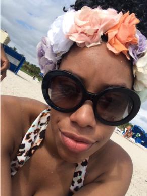 flower-crown selfie