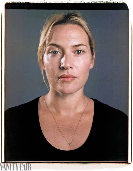 Kate Winslet no make up