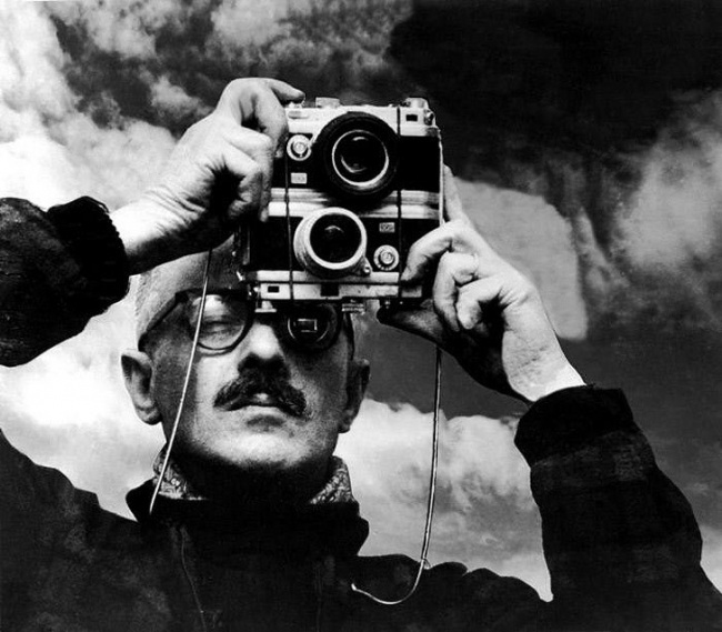 willy ronis selfie