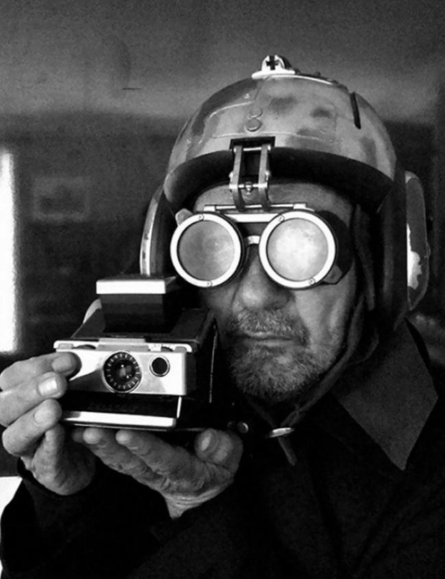 Paolo Roversi selfie