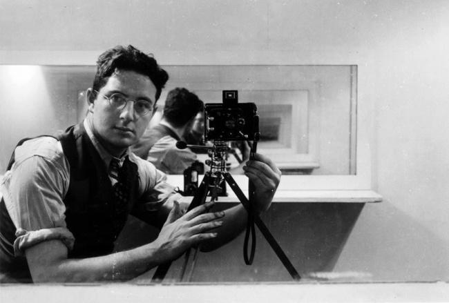 Arnold Newman selfie
