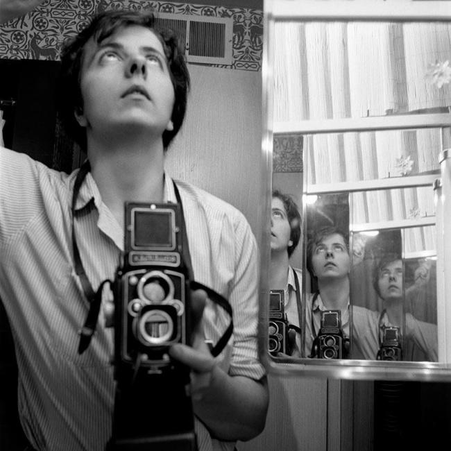 Vivian Maier selfie