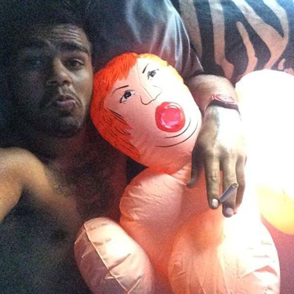 after-sex doll selfie