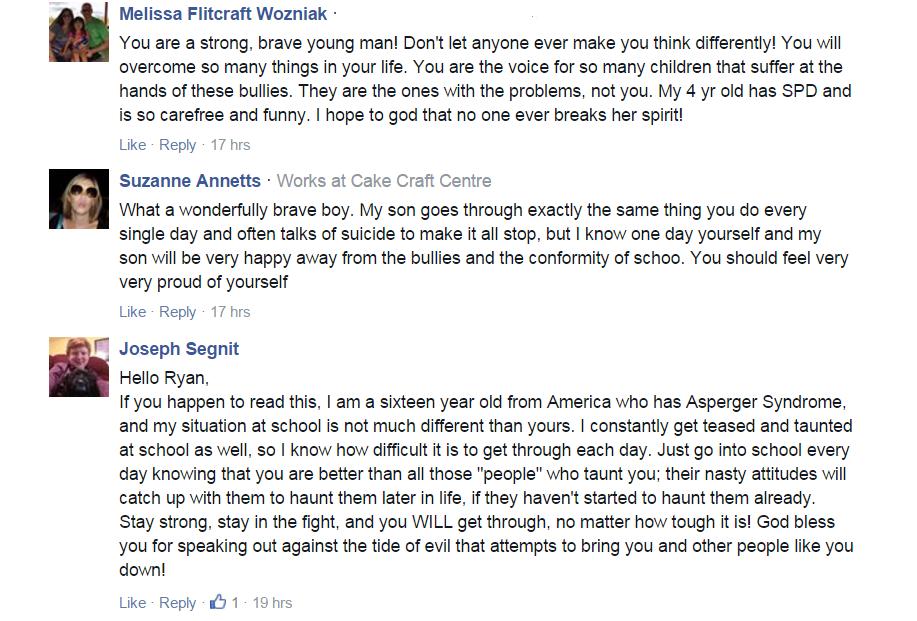 Ryan Wiggins support