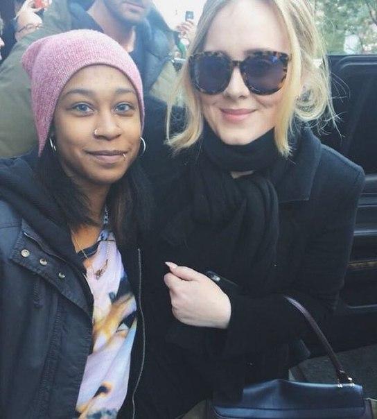 Adele fan2 selfie