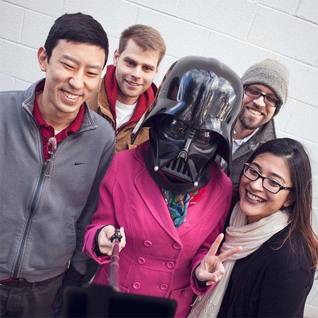 Star Wars lightsaber selfie stick