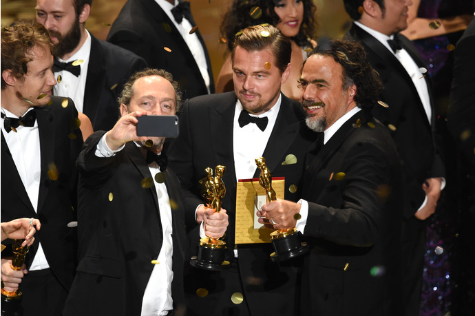 Alejandro González Iñárritu  selfie