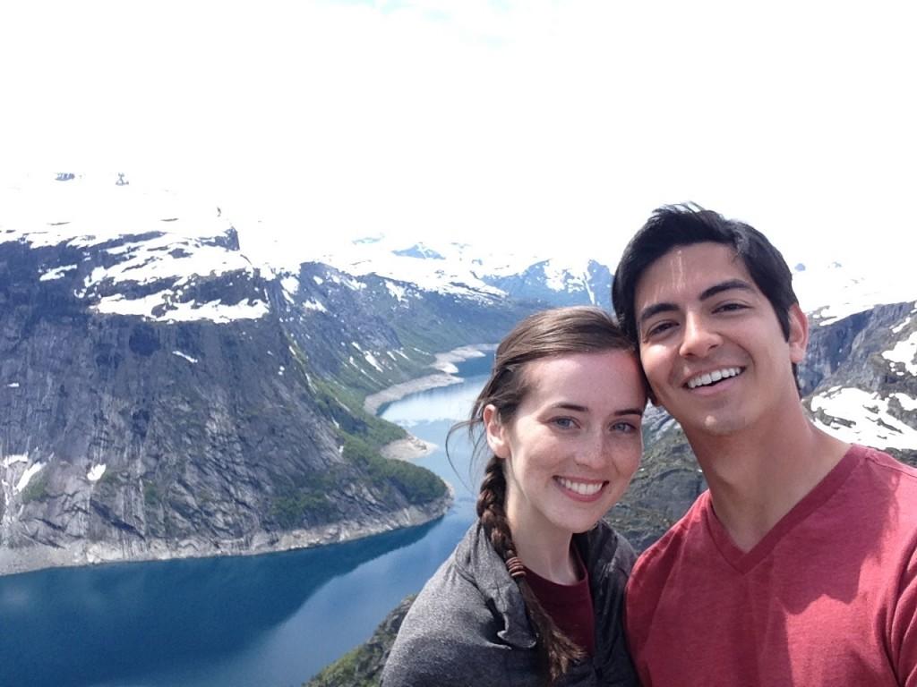 most wonderful places for selfie Trolltunga
