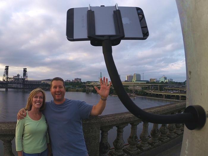 unusual selfie gadgets grip snap