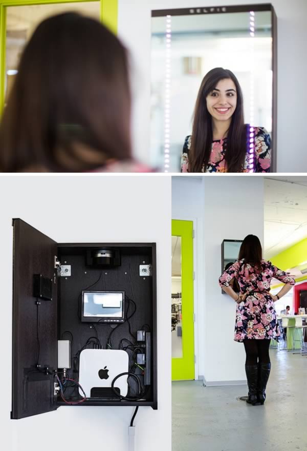 unusual selfie gadgets selfie mirror