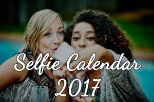 Selfie Calendar 2017