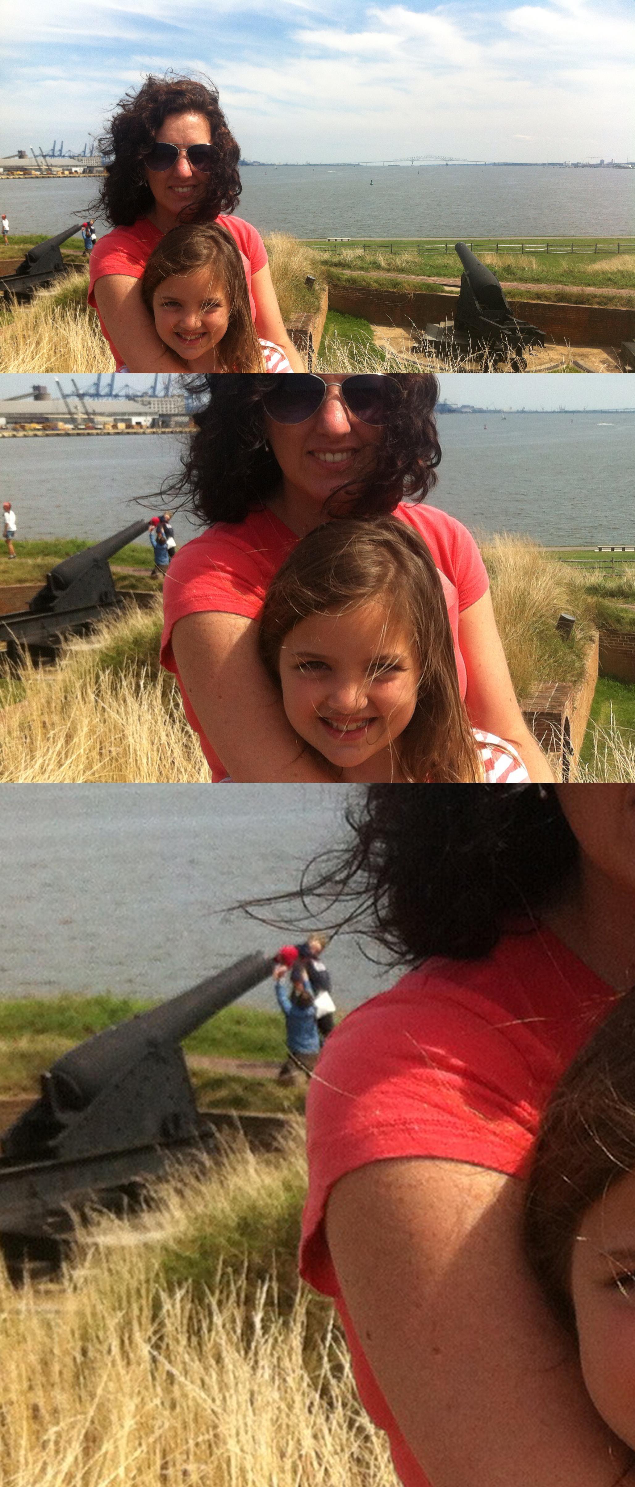 selfie background fails