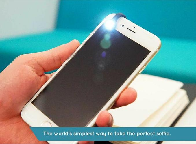 New devices for perfect selfies the moon selfie light