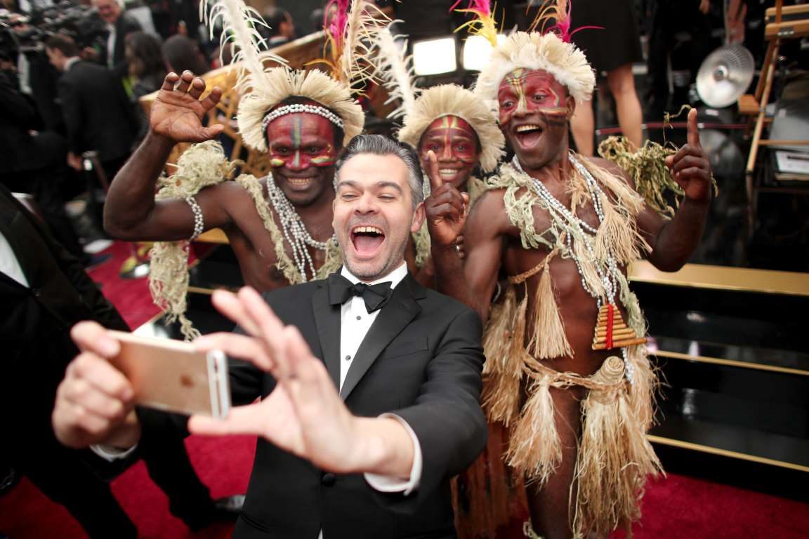 The Oscar selfies celebrities Jimmy Joseph
