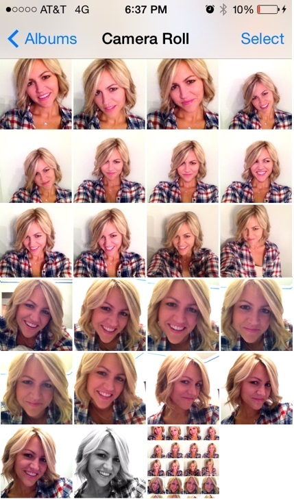 """How much does these """"spontaneous"""" selfies really take"""