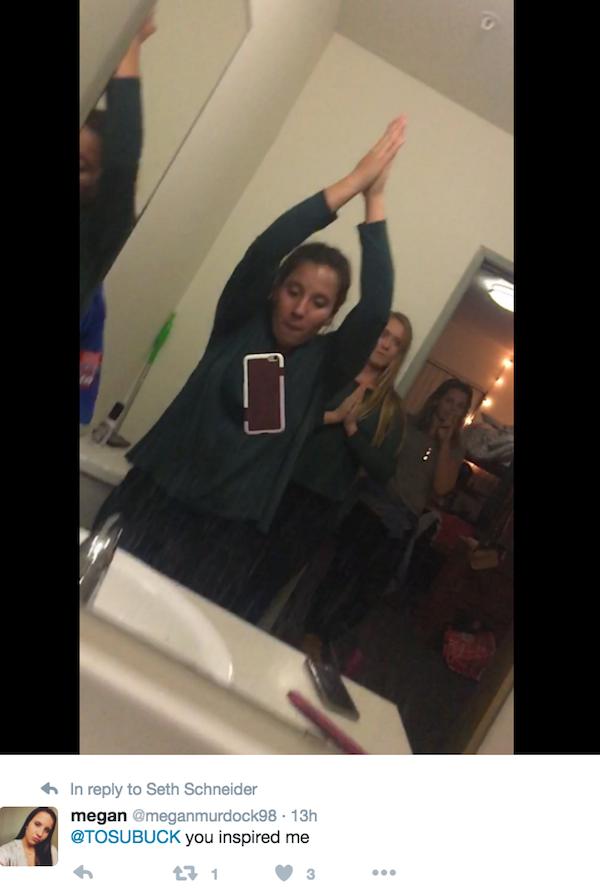 Self-Five Selfie challenge