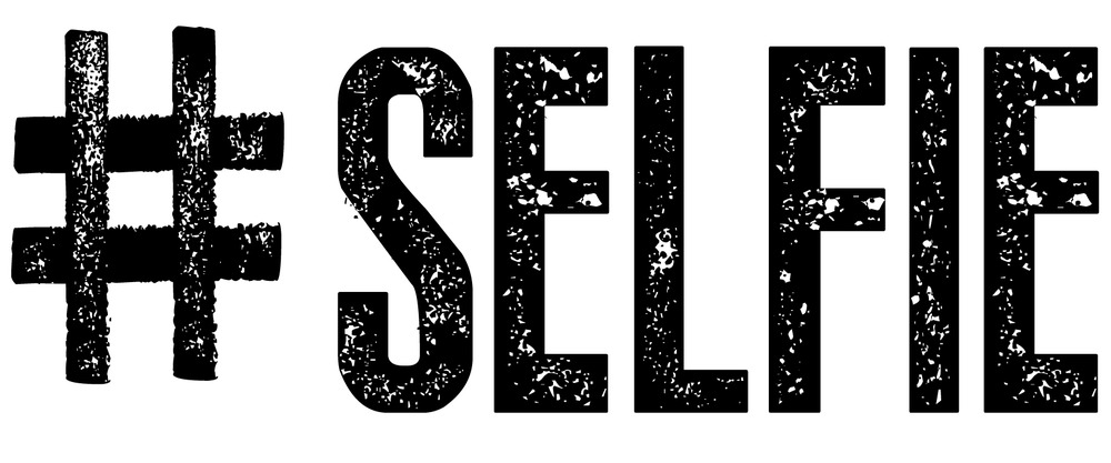 hashtag #selfie
