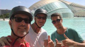 segwayanyway selfie in Valencia