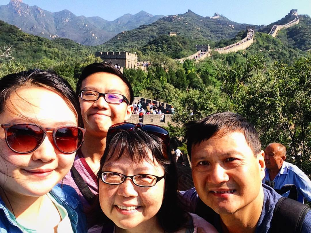 popular places for selfies the great wall of china